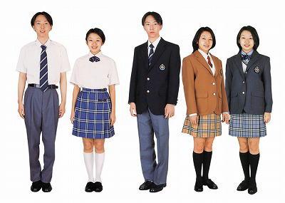 松栄学園高等学校制服画像